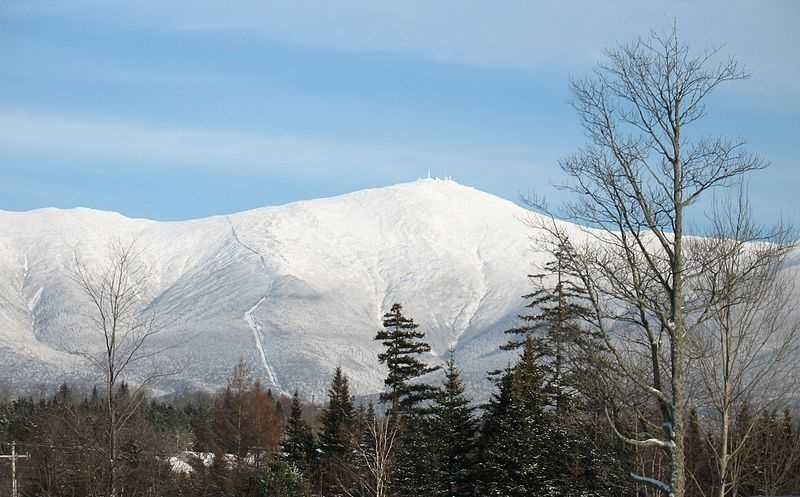 """Josh's favorite New Hampshire landmark is Mount Washington. """"I love it so much, I dedicated an entire chapter to it in my book on New England weather,"""" said Josh."""