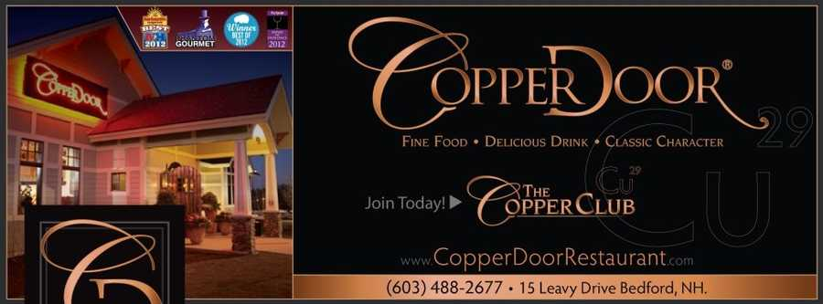 """Amy's favorite restaurant in New Hampshire is…""""Right now I love the Copper Door,"""" said Amy."""