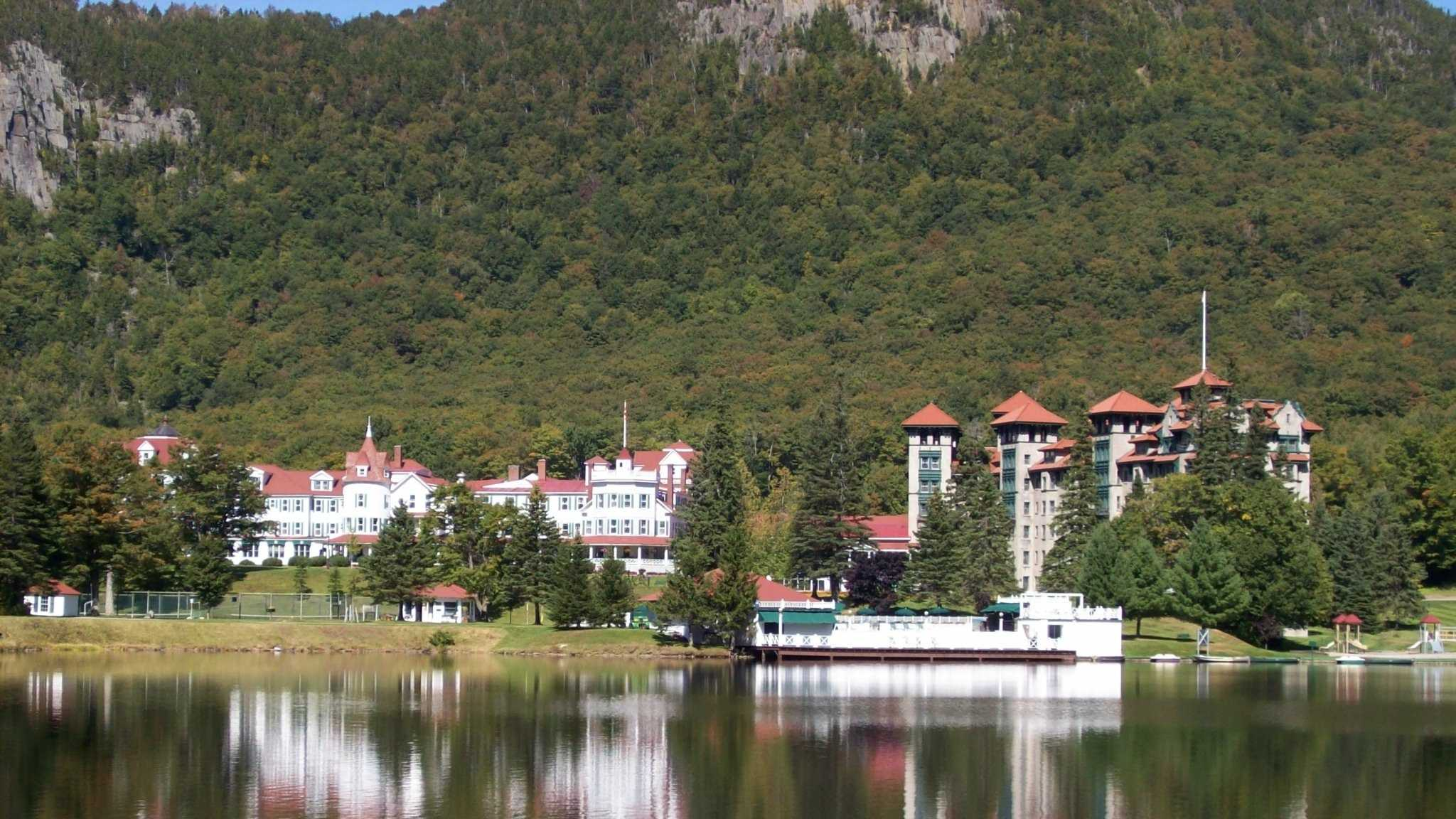 """Amy's favorite New Hampshire landmark is The Balsams. """"I saw my first moose and my first shooting star while on assignment in the North Country -- I'm sweet on the North Country,"""" said Amy."""