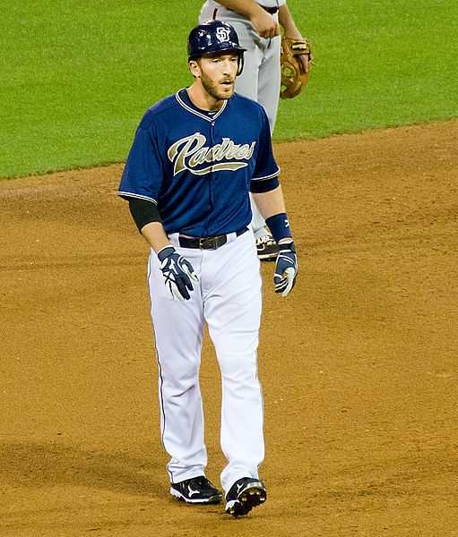 San Diego Padres right fielder Chris Denorfia was born July 15, 1980, in Bristol, Conn. He made his major league debut on Sept. 7, 2005.