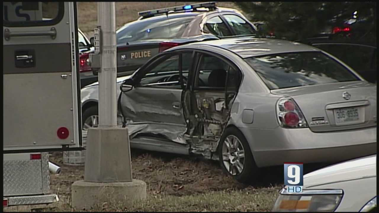 Toddler in car during high-speed police chase, crash