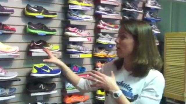 Betsey Coco talks about picking the right running shoes.