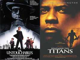 """What is Jason's favorite movie? """"I have so many favorites, but a few of my top choices would be: 'Remember The Titans,' 'Shawshank Redemption,' 'The Untouchables,' 'CaddyShack' and the list goes on,"""" said Jason."""