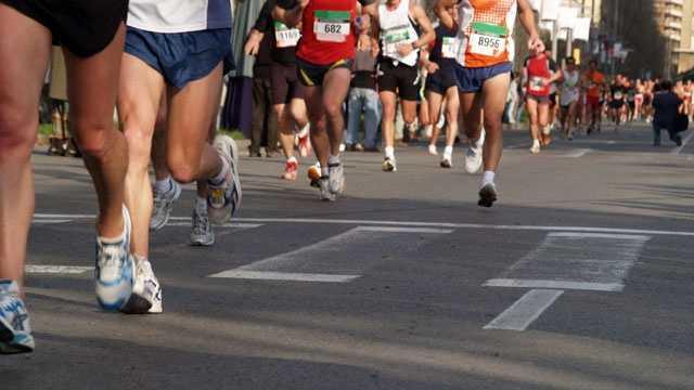 Marathon Timeline - Finishers