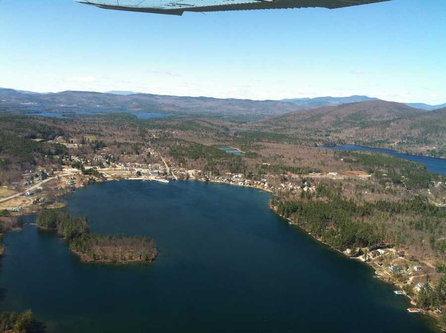 Ice-out was declared on Lake Winnipesaukee on April 17.
