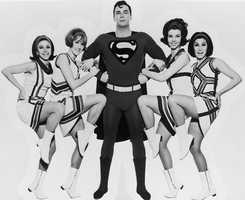 """Bob Holiday actually played Superman more times than any other actor, thanks to his lead role in the original cast of the 1966 Broadway musical """"It's a Bird, It's a Plane, It's Superman!"""""""
