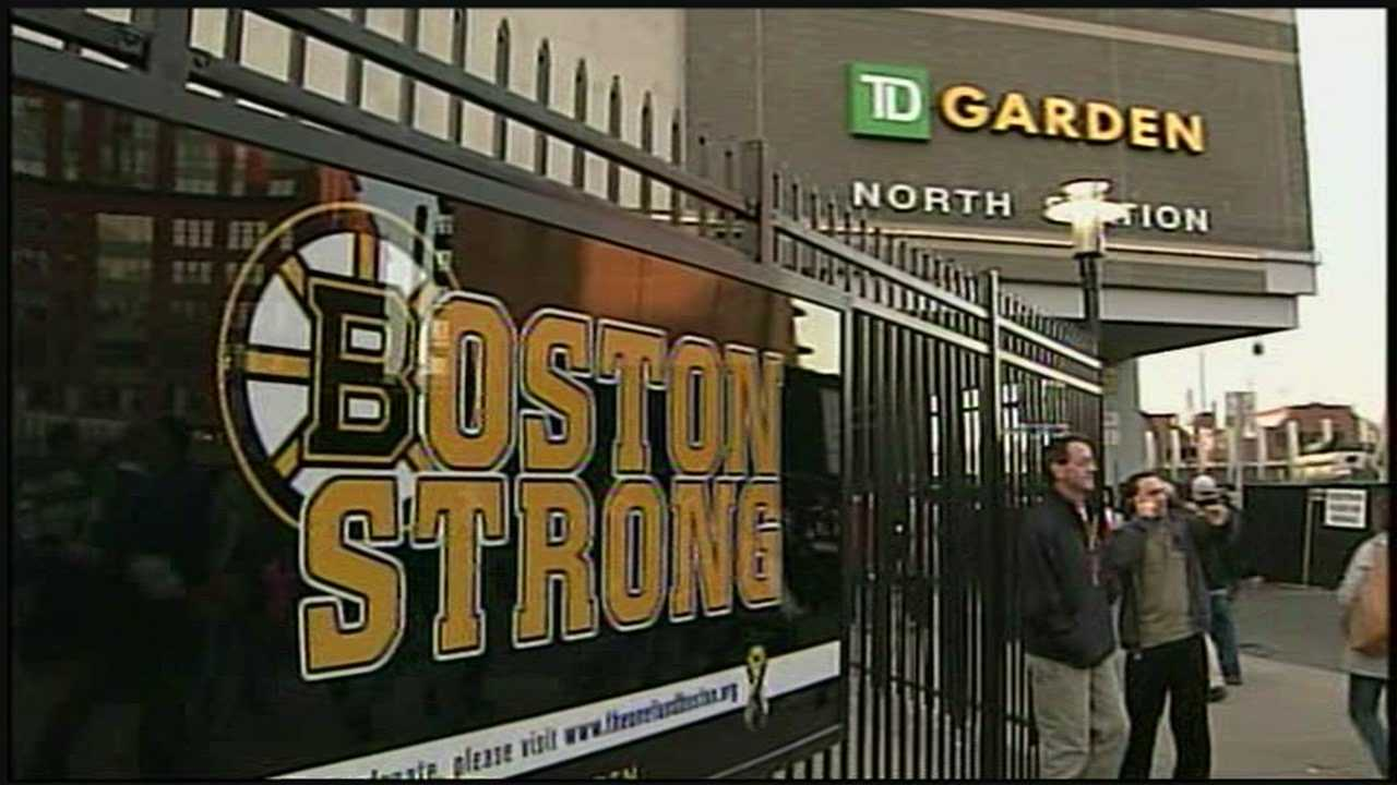 Bruins fans are Boston Strong