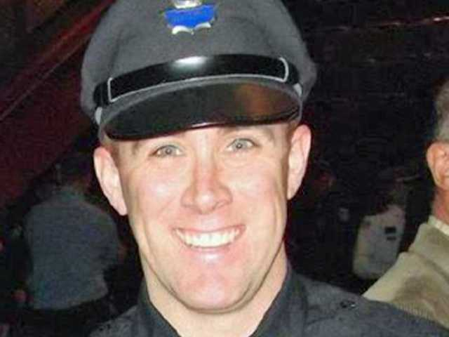 MBTA Police Officer Richard Donohoe was wounded in the shootout with the bombing suspects.