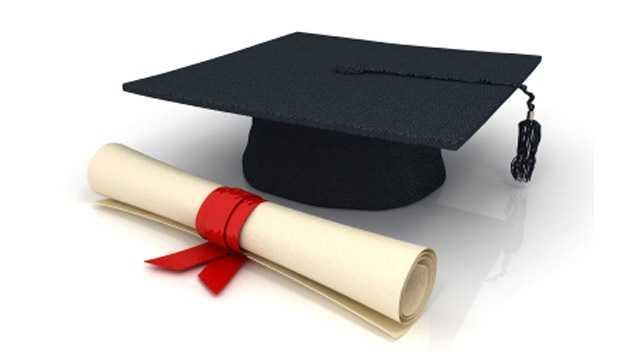 college, diploma, hat