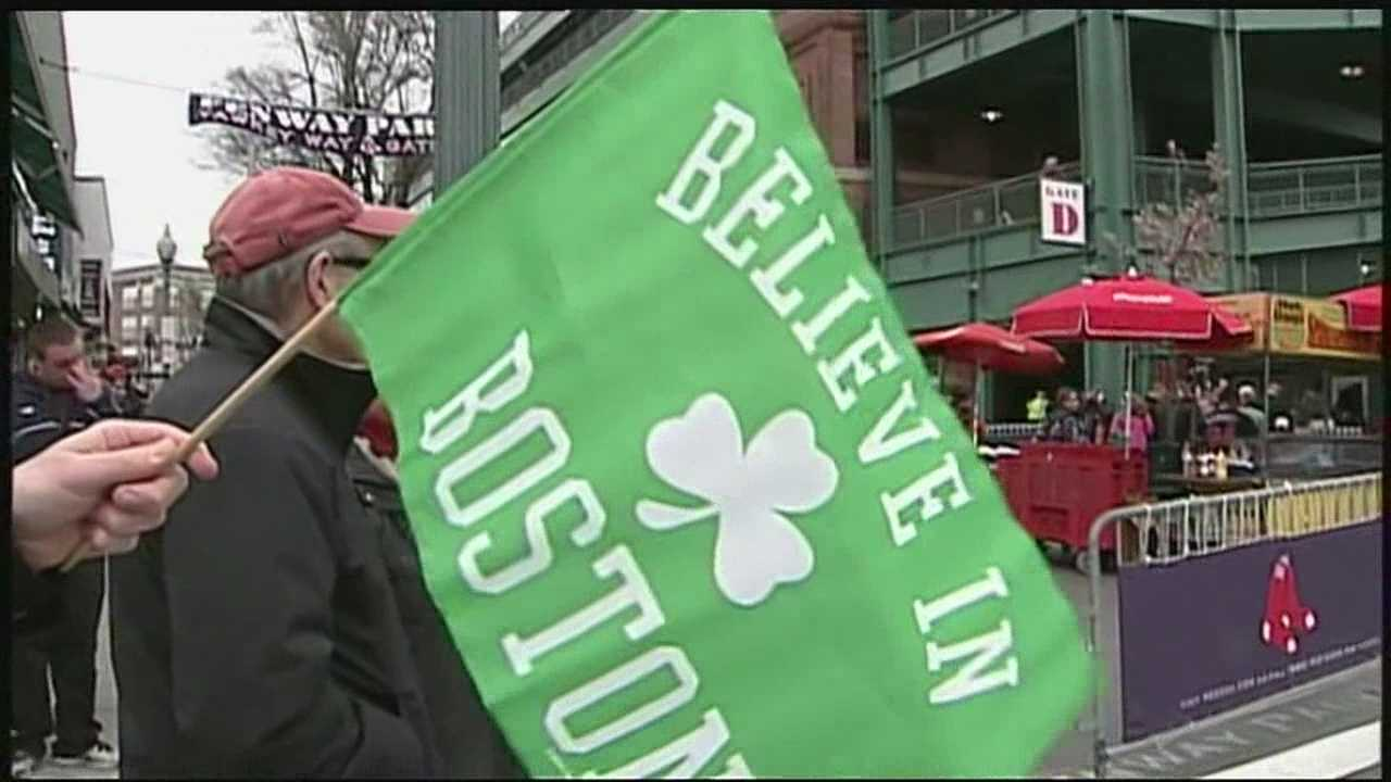 Believe in Boston flag