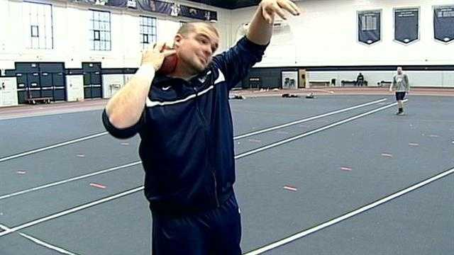 UNH athlete ends career to donate bone marrow