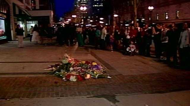 Visits to memorial continue as Boylston Street reopens