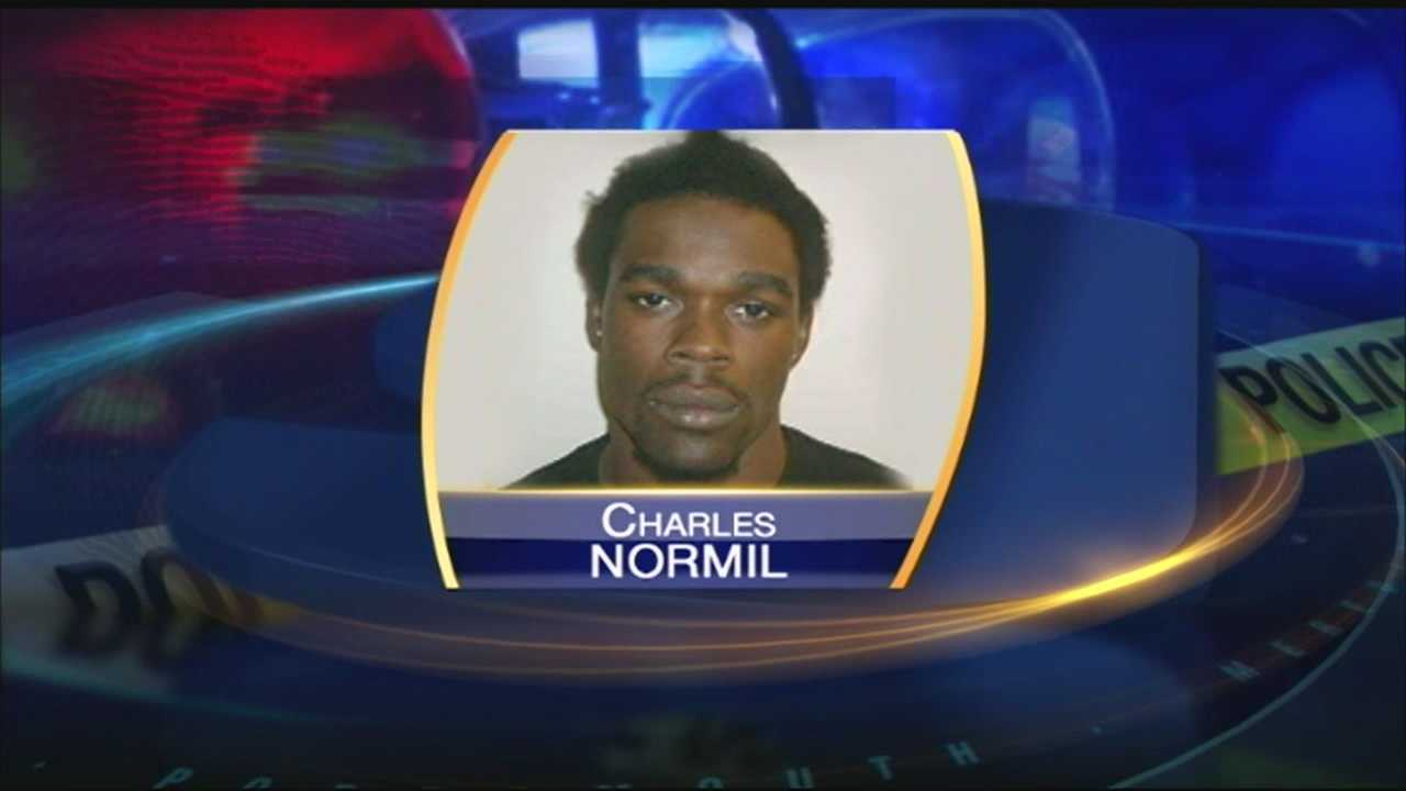 Charles Normil was also arrested for breaking into a Rye home in 2009.