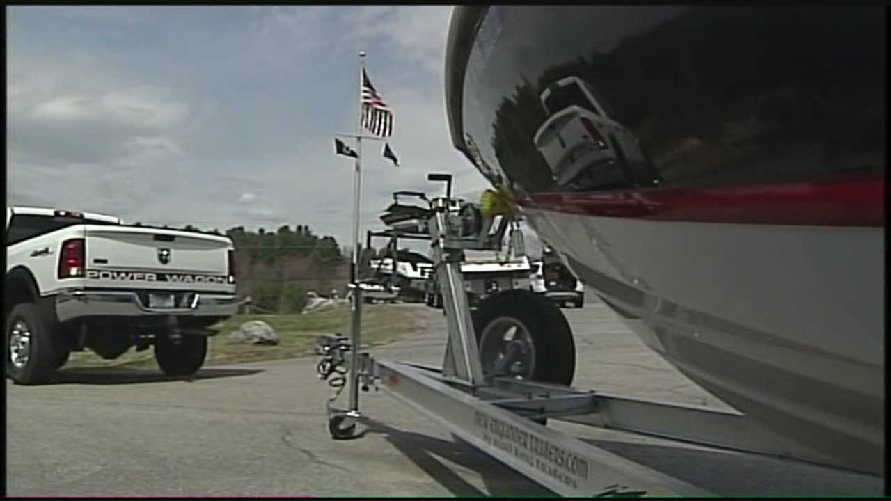 Boats taken out of storage in Lakes Region