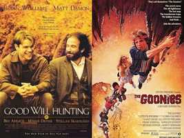 """Nick says his favorite movie is a toss-up. """"Good Will Hunting or The Goonies. Yes, on the surface they are total opposites. But if you really look at it, both films are about characters/friends who are trying to make it in a world where they think they don't fit. One just happens to be about a bunch of kids searching for a pirate's treasure."""""""