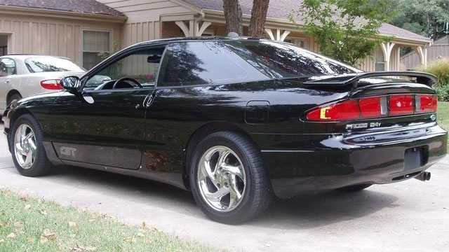 """Nick's first car was a black 1990 Ford Probe. """"It was awesome! I loved it. It had a sun roof. The dashboard was completely digital. When you're 17 -- these things matter. Sadly, I totaled it five months later,"""" said Nick."""