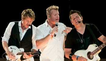 """Nick said he doesn't remember his first concert. """"But I remember seeing Rascal Flatts in concert a few years ago. It was great show,"""" said Nick."""
