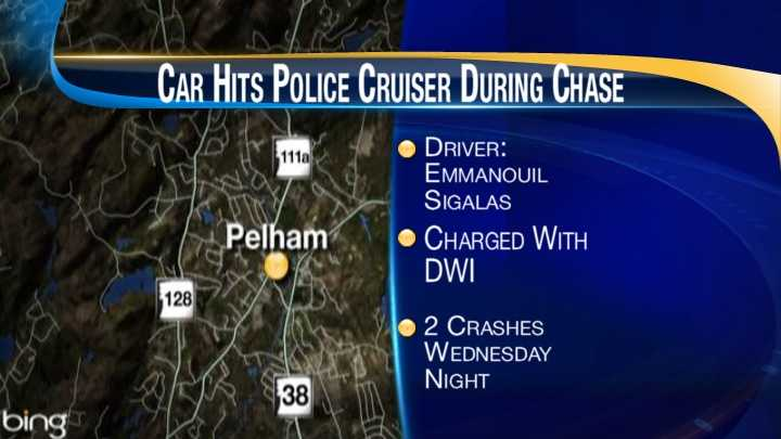 Pelham chase, crash