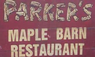 3) Parker's Maple Barn Restaurant in Mason