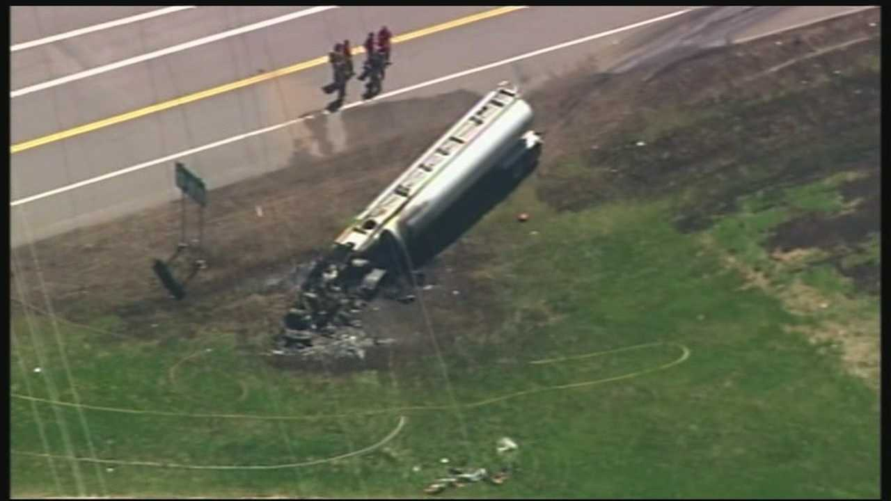 Route 12 reopened Friday night after a deadly crash killed 2, and injured 1 more.