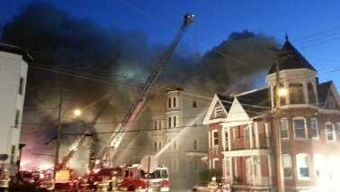 img-Third fire in Lewiston, ME