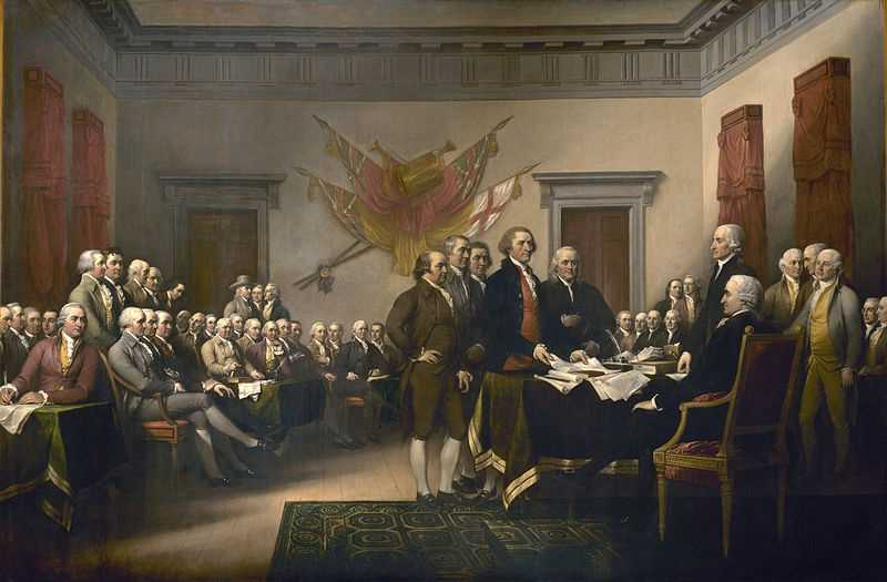 "If he could interview anyone past or present, Adam would turn to our Founding Fathers. ""I'd pull a 'Bill & Ted,' round up all the Founding Fathers and bring them to the present day so they could see how things turned out."""