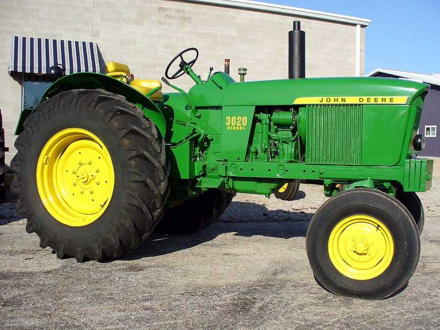 When he was little, Adam wanted to be a farmer with a John Deere tractor when he grew up.