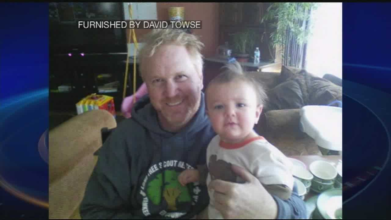 1-year-old rescued by father after falling into river