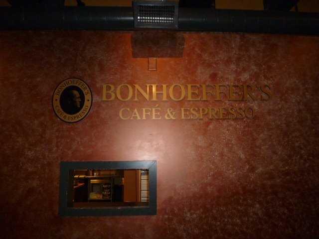 Tie-14) Bonhoeffer's Cafe & Expresso in Nashua