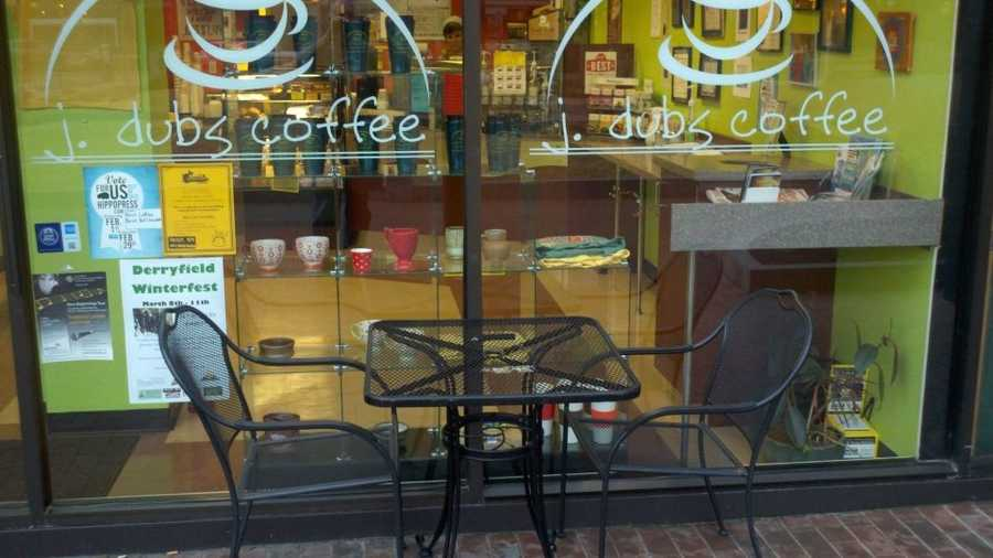 9) J. Dubs Coffee in Manchester