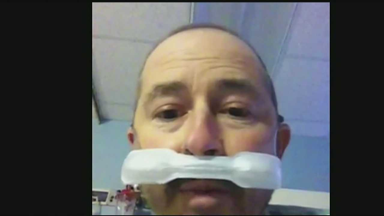 Man makes medical marijuana plea to governor