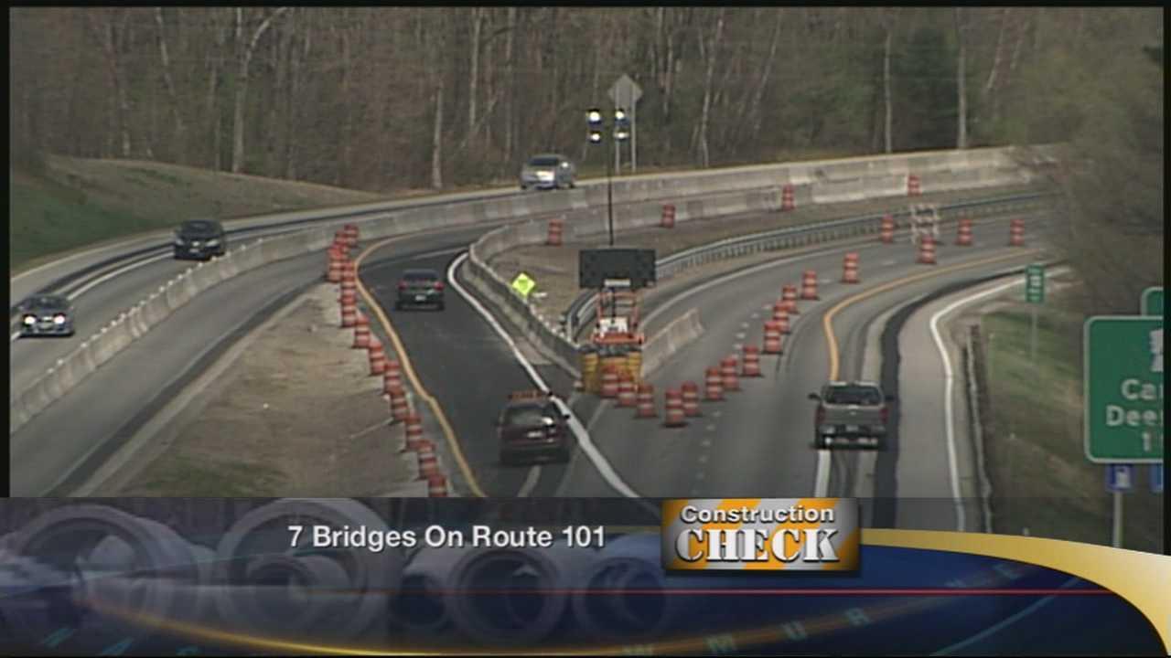 This week, pavement and bridge rehabilitation continues on seven bridges along Route 101.