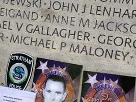 Since April 2012, Greenland Police Chief Michael Maloney's death has been etched into people's minds, and on Sunday, his name has been added to the National Law Enforcement Officers Memorial in Washington, D.C.