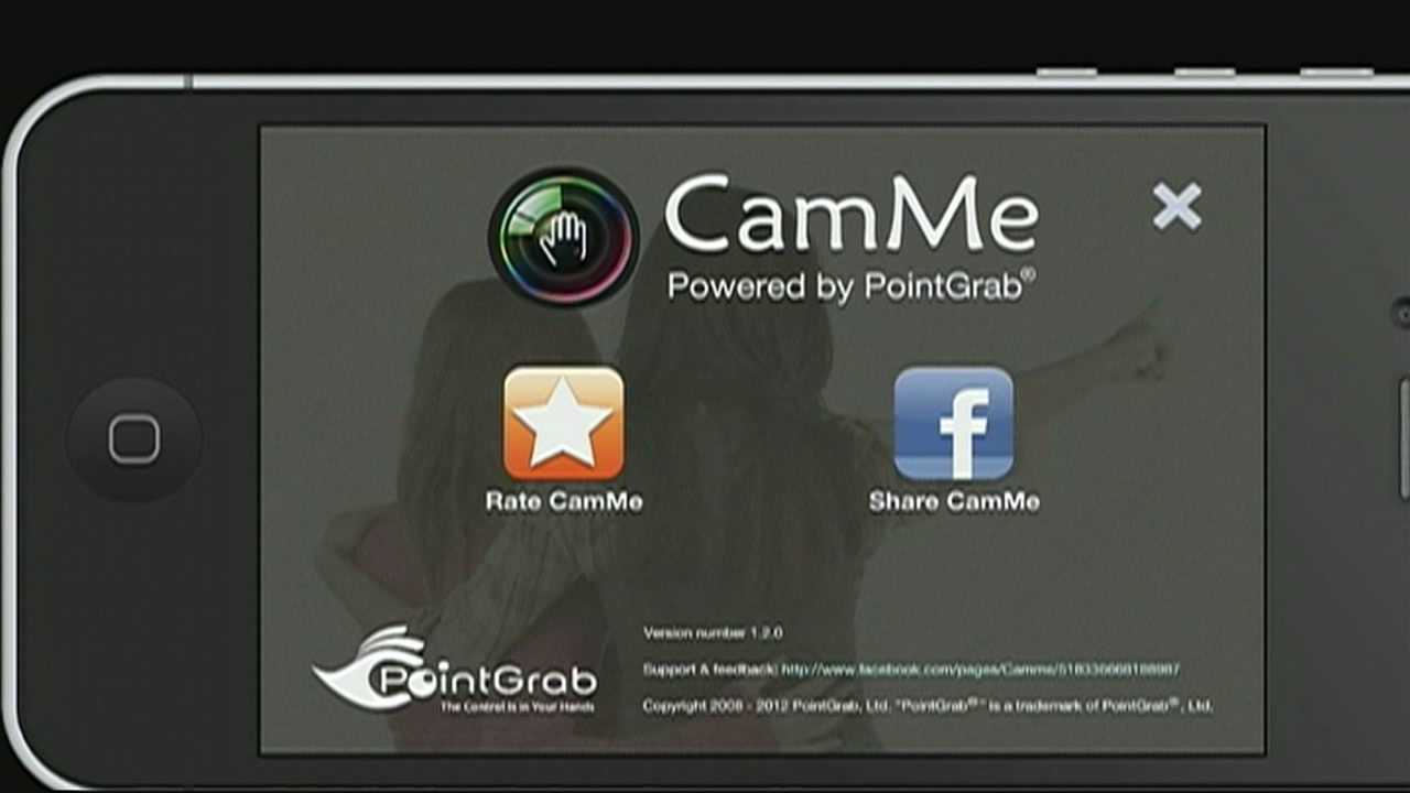 "The ""Cam Me"" application allows users to take photos of themselves, without taking the typical shot with an outstretched arm."