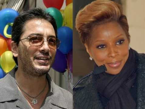8) Scott and Mary(Pictured: Actor Scott Baio and musician Mary J. Blige)