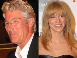 7) Richard and Deborah(Pictured: Actor Richard Gere, and musician Debbie Gibson)