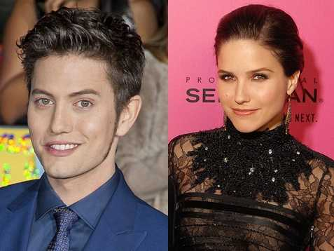 2) Jackson and Sophia(Pictured: Actor Jackson Rathbone, and actress Sophia Bush)