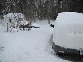 """When he hears the words, """"New Hampshire,"""" Andy thinks about his car covered in snow."""