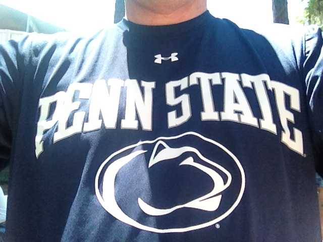 Andy's favorite sports team is the Penn State Nittany Lion football team.