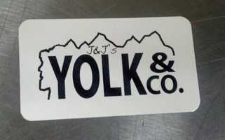 Tie-No. 5: J & J's Yolk & Co. in Belmont.