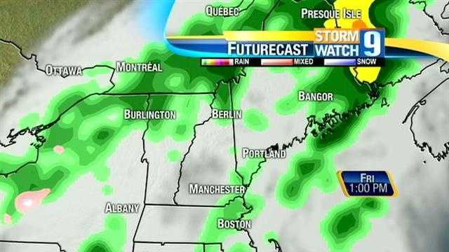 Rain is in the forecast for Memorial Day weekend. Find out where and and when the rain will hit.