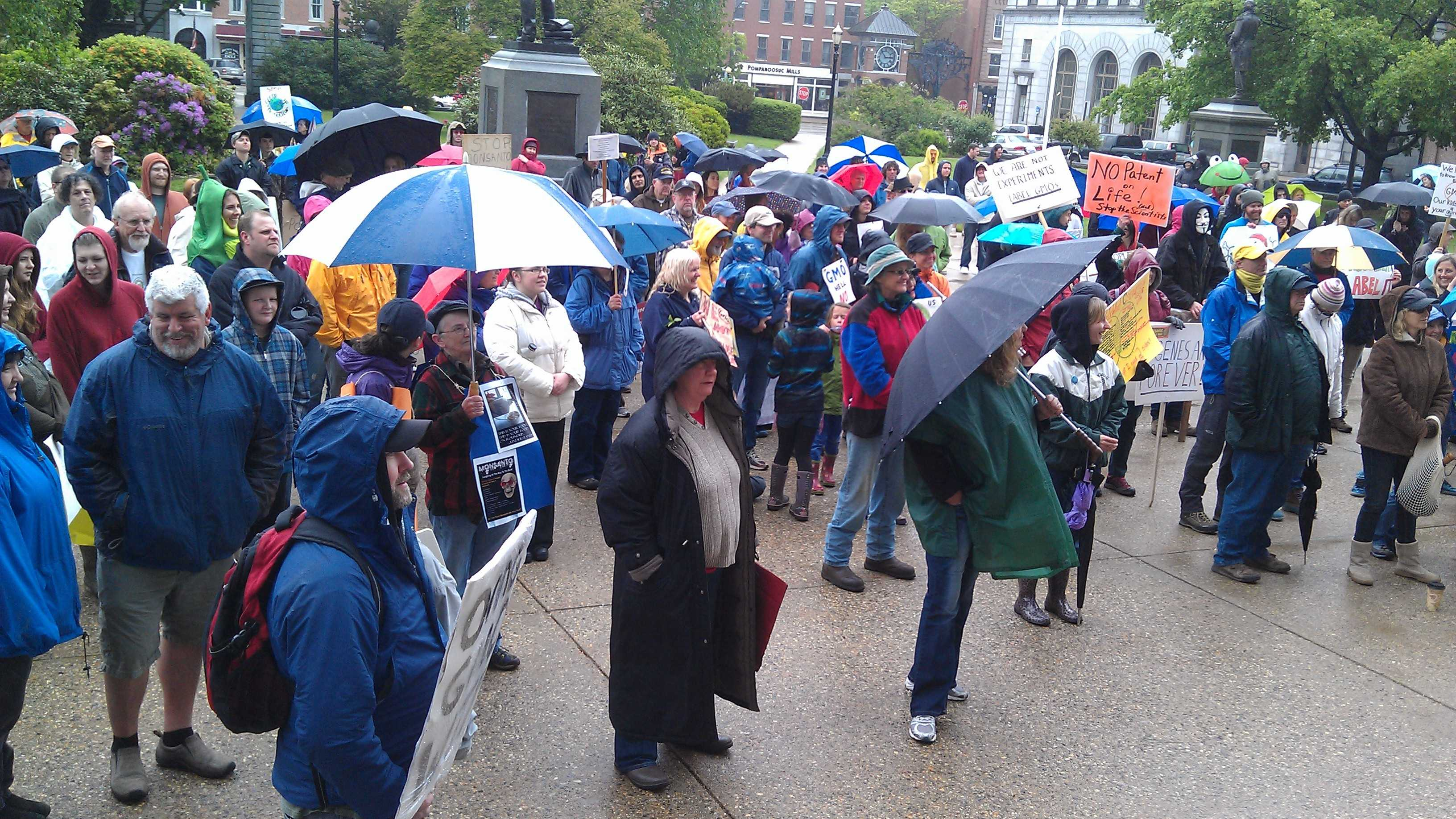 Concord residents march against Monsanto