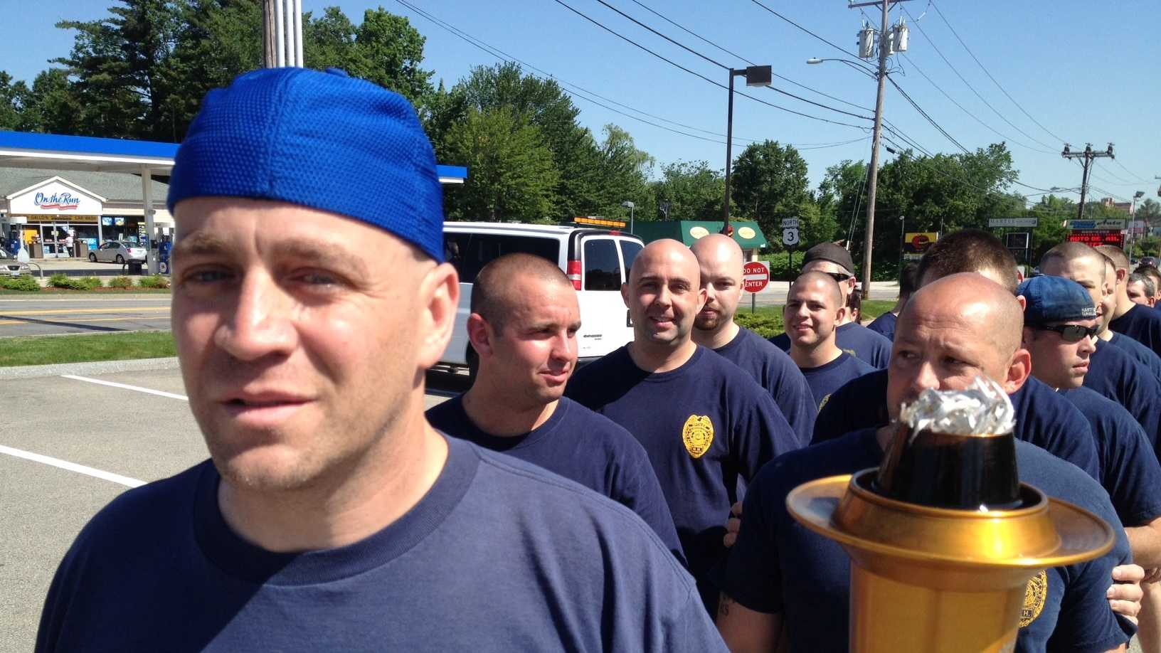 2012 NH Special Olympics law enforcement torch run