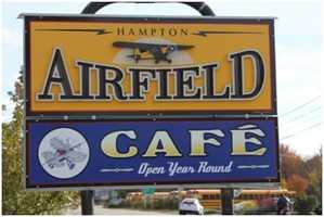 Tie-19) Airfield Cafe in North Hampton