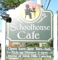 Tie-15) Schoolhouse Cafe in Warner