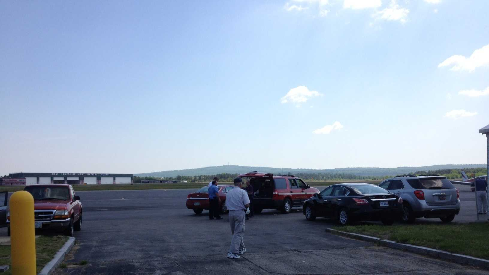Concord Airport Runway
