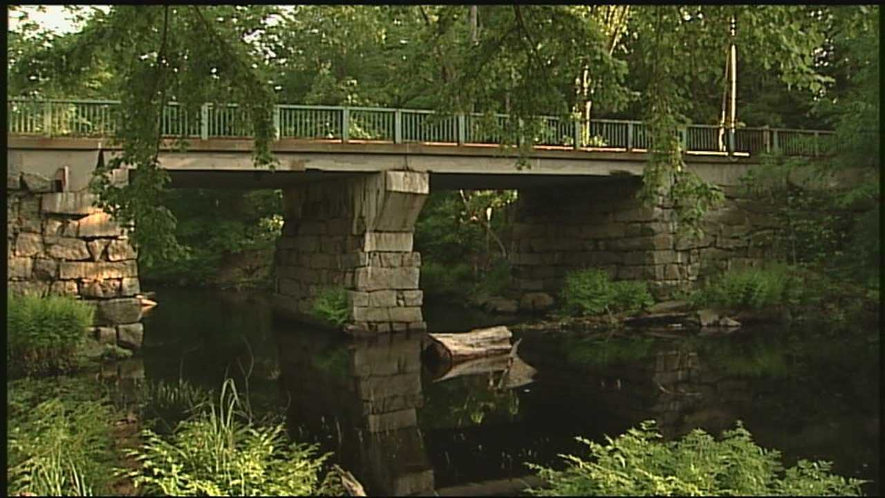 The state of New Hampshire wants a bridge on Dudley Road in Raymond gone to save money. But if the historic structure is removed, the nearby Scenic Nursery worries that its business will take a big hit.