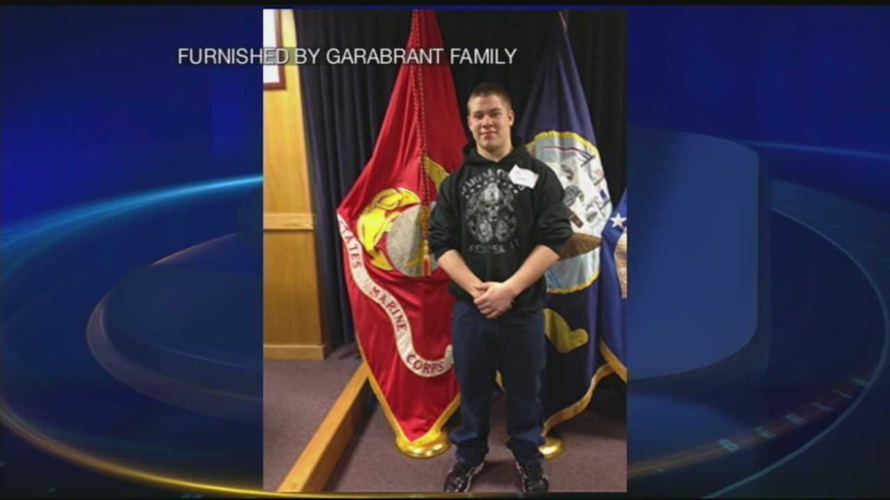 Student could wear Marine uniform under graduation gown