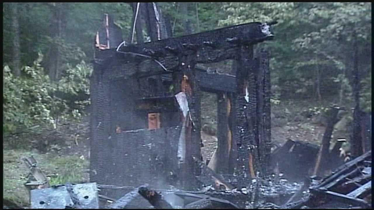 Fire destroys Jaffrey home