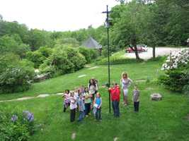 These children are part of a statewide effort that began in 2007 to get kids outside and in their own back yard, thanks to the New Hampshire Children in Nature Coalition.